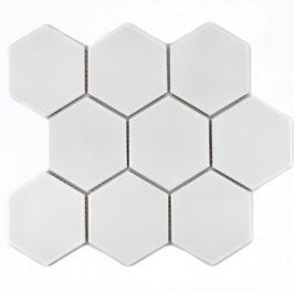 Hexa Mosaik weiß h10073 (und oder) schwarz h10075