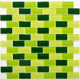 Timeless Mosaik mix grün 4mm h10866 oder 8mm h10867