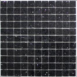 Artificial Mosaik schwarz h10623