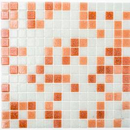 Water Mosaik mix weiß braun dunkelbraun h10677