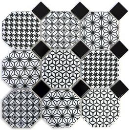 Octa Mosaik weiß h10076