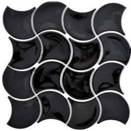 Fan Mosaik schwarz FS 11B