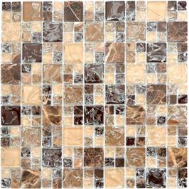Ice Cube Mosaik mix dunkelbraun h10973