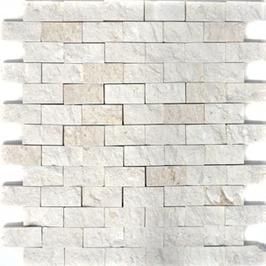 Face Mosaik weiß h10599