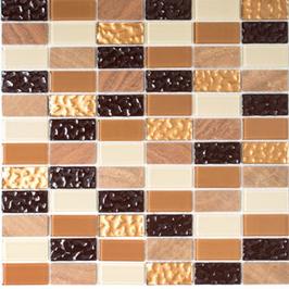 Improve Mosaik selbstklebend mix beige braun h11152
