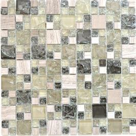 Ice Cube Mosaik mix grau grün h10985