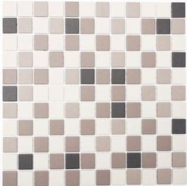 Architecture Mosaik mix hellbeige mit grau h10282 (und oder) hellbeige h10287