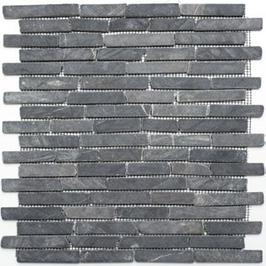 Bali Mosaik schwarz h10475