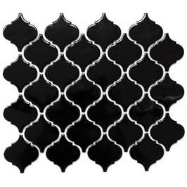 Style Mosaik schwarz h10037