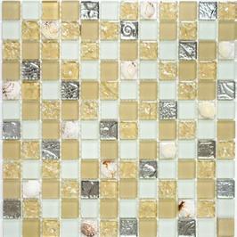 Beach Mosaik beige - gold h10801