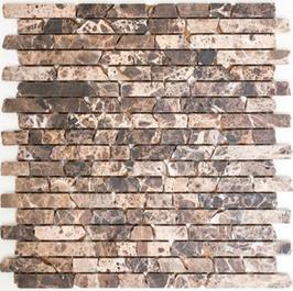 Hainan Mosaik mix braun h10456