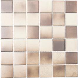 Antislip Mosaik mix beige mit braun h10194