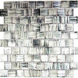 Foil Mosaik mix schwarz klar gefrostet 4mm h10719 oder 8mm h10723