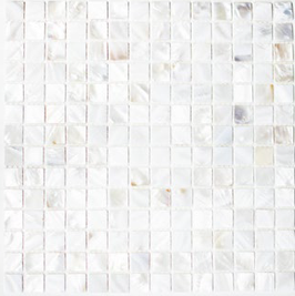 Anadonta Mosaik mix perlmutt 20x20mm h10328 SM 201