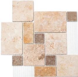 Face Mosaik mix beige mit braun h10612
