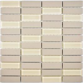 Architecture Mosaik hellbeige h10291