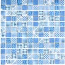 Patch Mosaik blau h10645