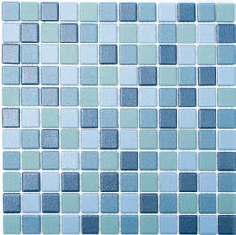 Antislip Mosaik mix blau h10178 Duschboden geeignet