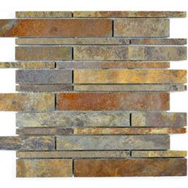 Subway Mosaik mix rost h10424 (und oder) schwarz h10425