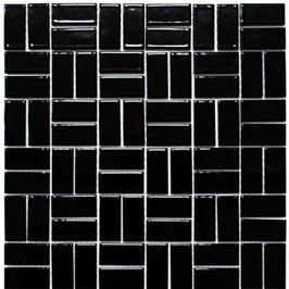 Architecture Mosaik schwarz h10229