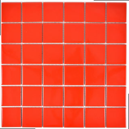Color Mosaik rot h10175