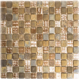 Beach Mosaik mix beige braun grau h10799