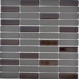Architecture Mosaik braun h10297 mit Keramik Glas