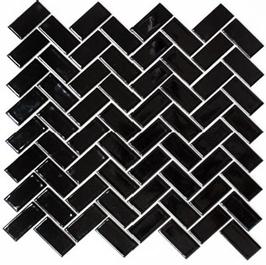 Architecture Mosaik schwarz h10228