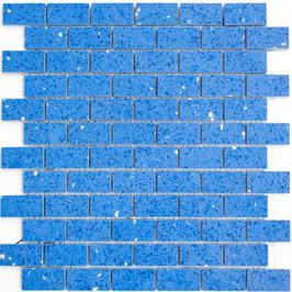 Artificial Mosaik blau h10619