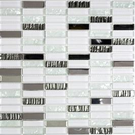 Diamond Mosaik mix weiss h10925