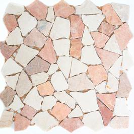 Hainan Mosaik mix rot beige h10471