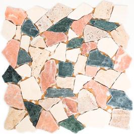Hainan Mosaik mix creme beige rot grün h10454