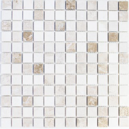 Face Mosaik mix beige mit braun h10615