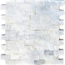 Face Mosaik weiß h10602
