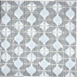 Wavy Mosaik grau h10869