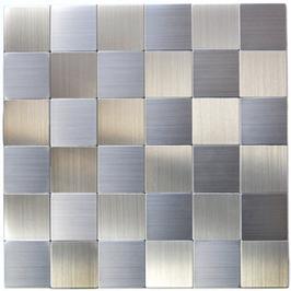 Move Mosaik selbstklebend silber metall h11126