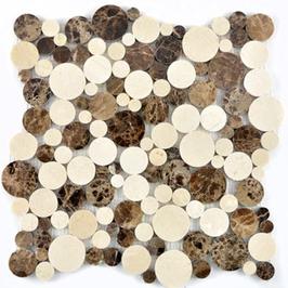 Hainan Mosaik mix beige braun h10460