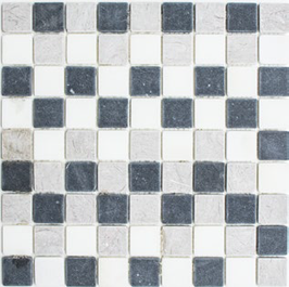 Hainan Mosaik mix beige grau schwarz h10473