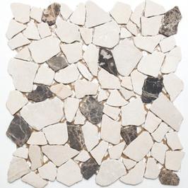Bali Mosaik mix beige braun h10491 Bruchmosaik