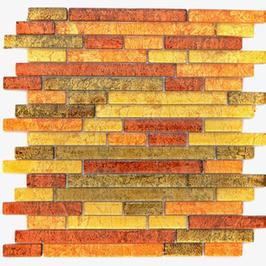 Foil Mosaik mix silber schwarz h10739 (und oder) mix gold orange braun h10745