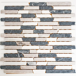 Hainan Mosaik mix beige grau schwarz h10468