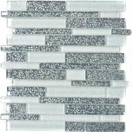 Qin Shi Mosaik mix weiß mit grau h10757