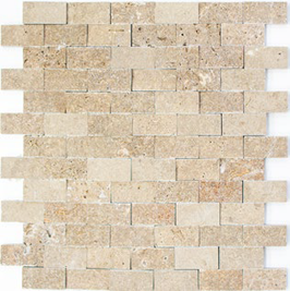 Face Mosaik walnuss h10597