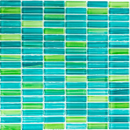 Code Mosaik grün h10807 Stäbchenmosaik