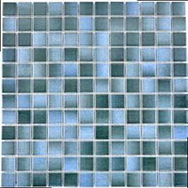 Style Mosaik mix blau h10029