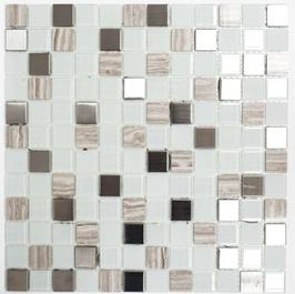 Improve Mosaik selbstklebend mix weiß h11141