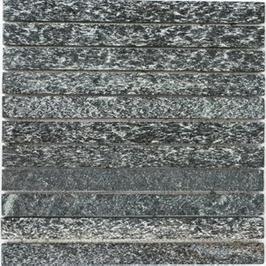 Quarz Mosaik mix schwarz mit anthrazit h10409
