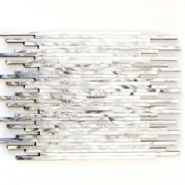 Modern Mosaik silber h10350, silber mit graustufen h10351, silber mit schwarz h10352, hellbraun h10353 (und oder) braun h10354