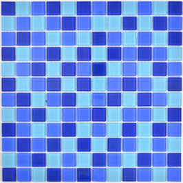 Sweden Mosaik mix blau h10717