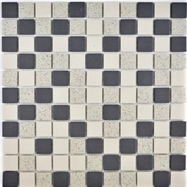 Salt Mosaik mix beige mit schwarz h10326 CU QR210